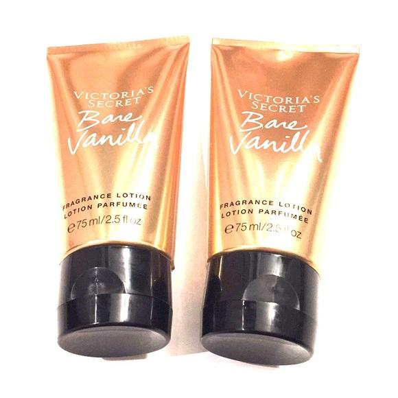 ec7f250ece Victoria s Secret Bare Vanilla Lotion 2 NWT